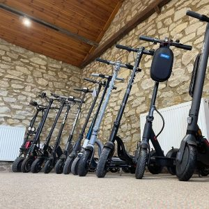 electric scooters oxfordshire showroom 1