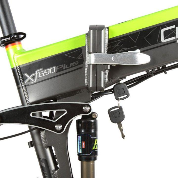 xf690 green black 500w 48v 10ah 7sp fat tire elect 10101