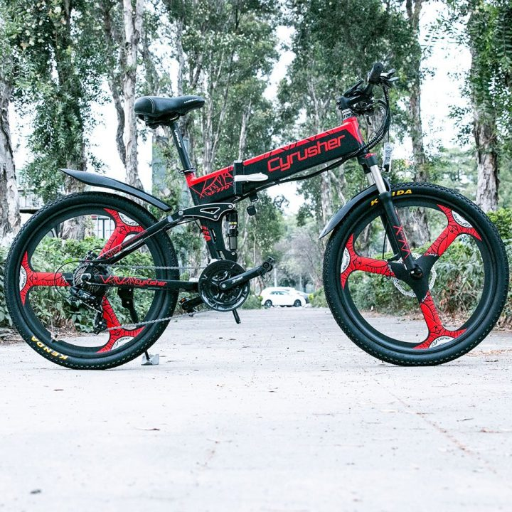 xf770 folding electric mountain bike 11718