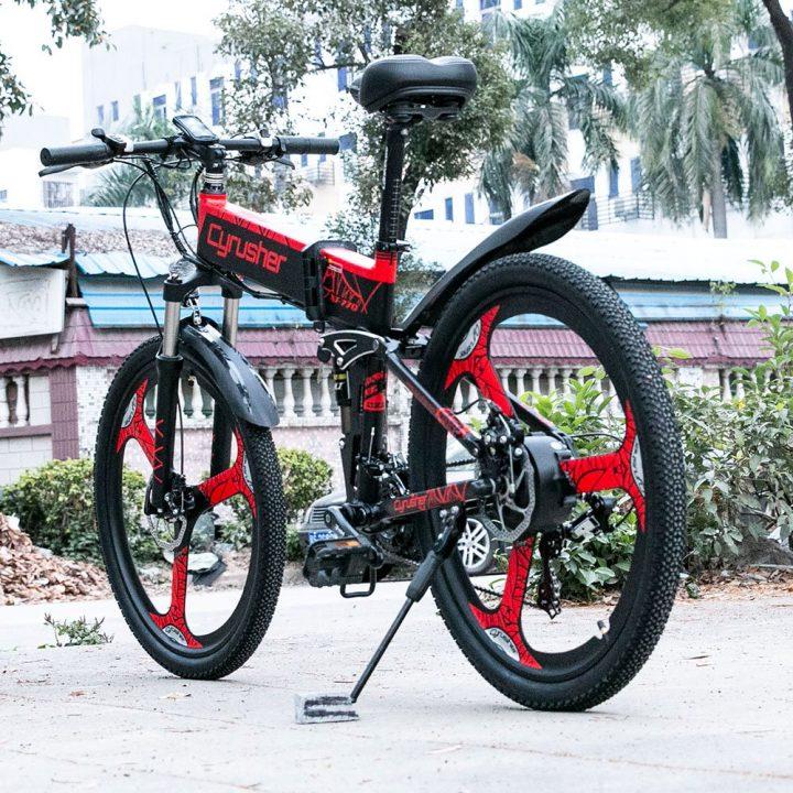 xf770 folding electric mountain bike 11720