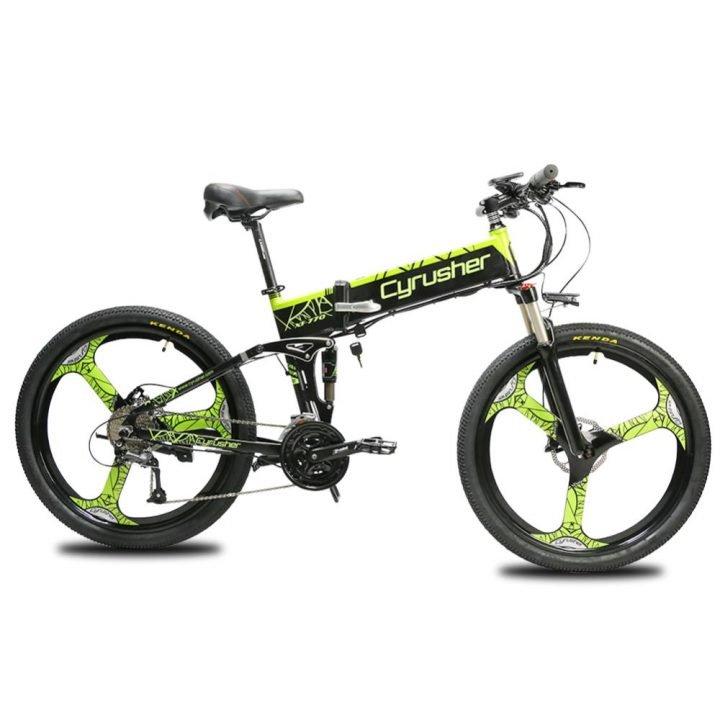 xf770 folding electric mountain bike full suspensi 11654