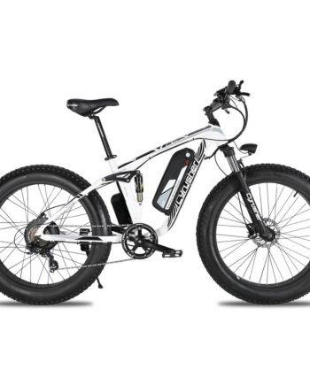 xf800 white 1000w 48v fat tire mountain e bike ful 10019